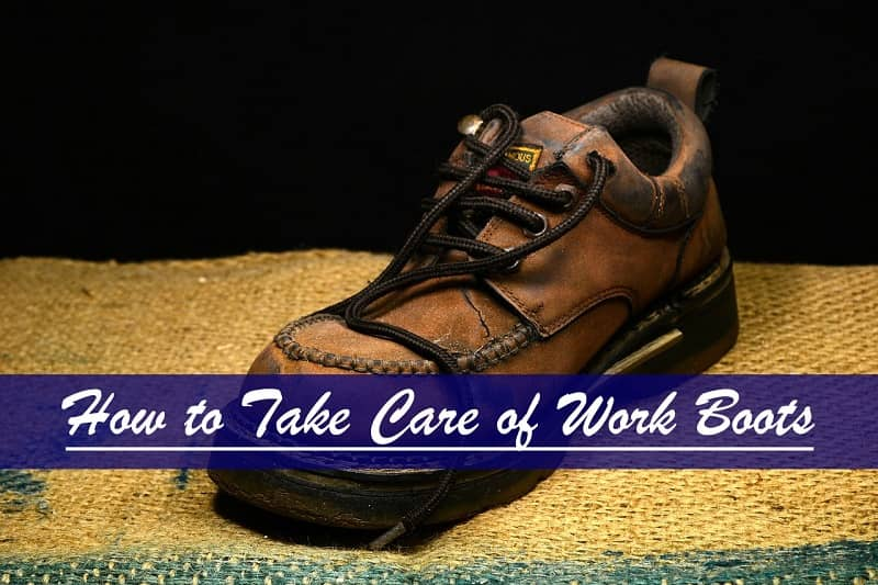 How To Wash Work Boots