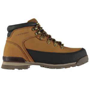 Street steel toe work boots by Dunlop
