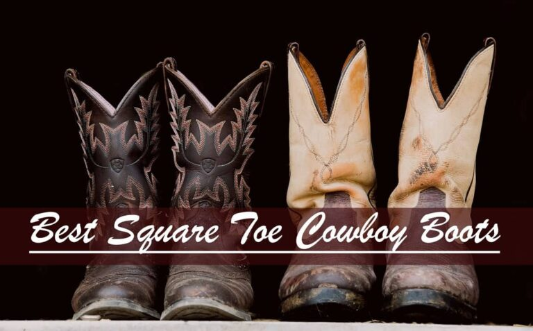 justin square toe boots