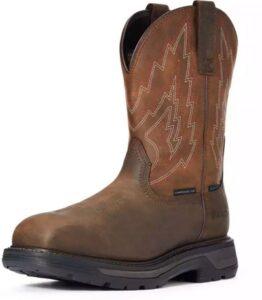 "Big Rig"" waterproof composite toe work boot"
