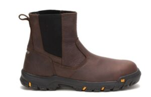 "Wheelbase"" steel toe work boot by Caterpillar"