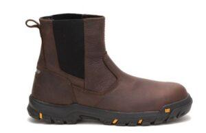 "Wheelbase"" steel toe work boot by Caterpillar"