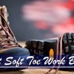 waterproof soft toe work boots