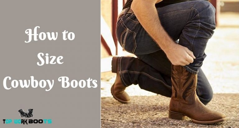 cowboy boot size guide