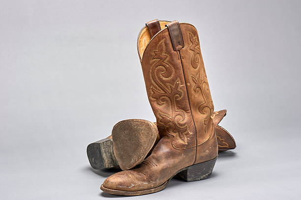 Leather Sole Boots Mens