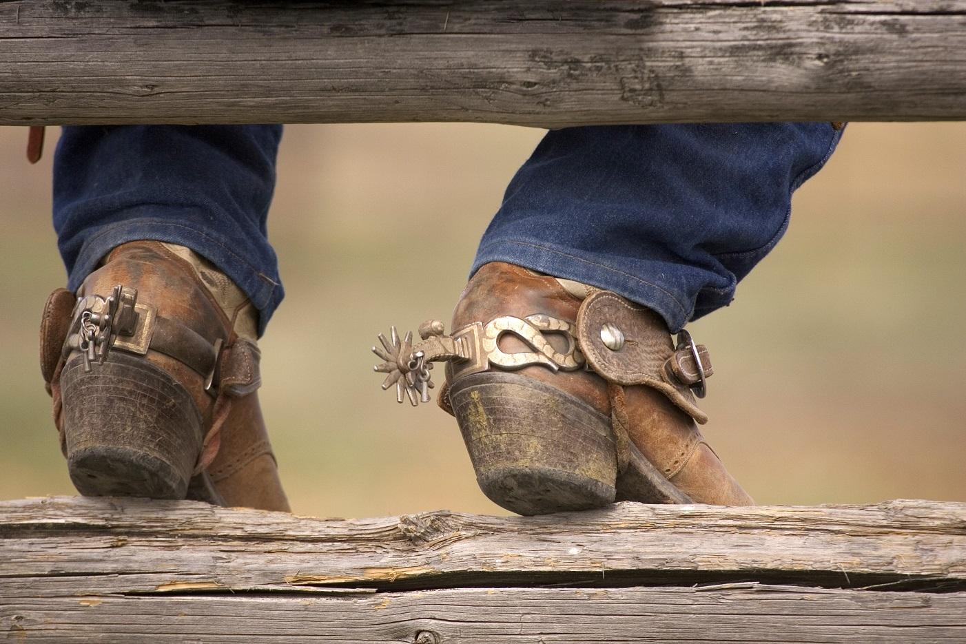 Cowboy Boot Heel Replacement