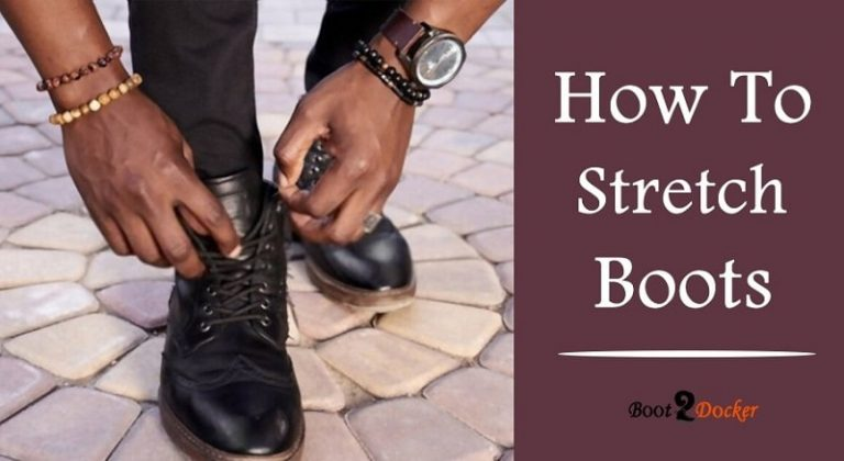 how to stretch boots