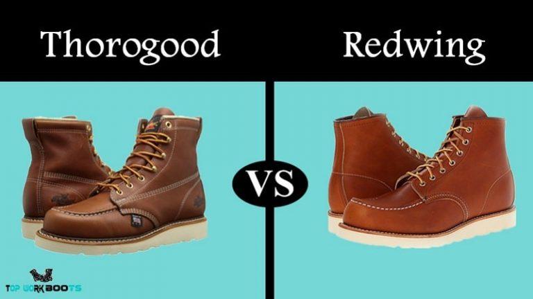 thorogood vs redwing